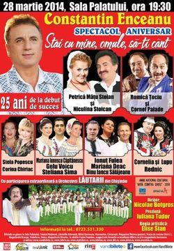 Spectacol Aniversar Constantin Enceanu - Stai cu mine, omule sa-ti cant